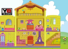 Dora Doll House Décor