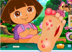 Dora Foot Injury