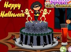 Dora Halloween Cake