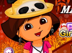 Dora Halloween Make Up