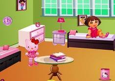 Dora Hello Kitty Room