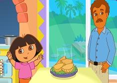 Dora is Cooking in La Cucina