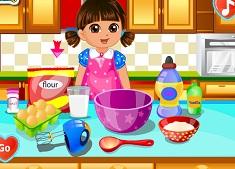 Dora Makes a Love Cake
