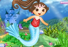 Dora Mermaid Princess