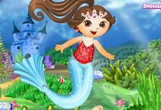 Dora Mermaid Princess