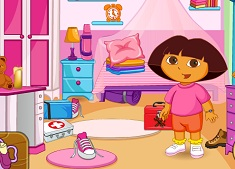Dora Messy Camp