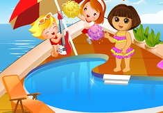 Dora on Holiday