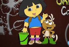 Dora Online Coloring