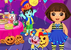Dora Prepare for Halloween