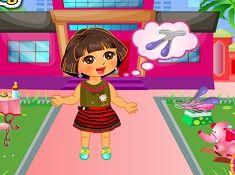 Dora Raining Day