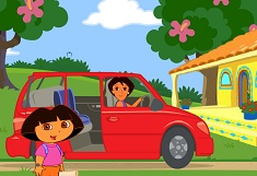 Dora Ride Along City Adventure