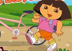 Dora Rides a Bike