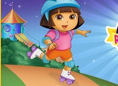 Dora Roller Skate Adventure