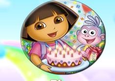 Dora Round Puzzle