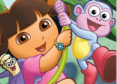 Dora the Explorer Spot the Differences