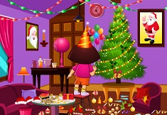 Dora Xmas Room Cleaning