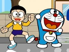 Doraemon vs Nobita Snow Adventure