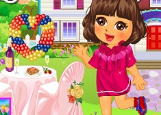 Dora's Valentine Sweet Dress Up