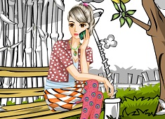 Dress up and Coloring