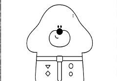 Duggee Coloring Game