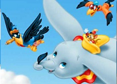 Dumbo and Birds Puzzle