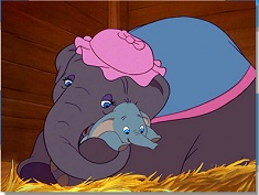 Dumbo and Mother Puzzle