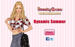 Dynamic  Summer Dress Up