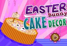 Easter Bunny  Cake Décor