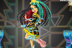 ELECTRIFIED CLEO DE NILE  MONSTER HIGH GAMES