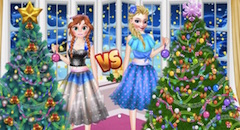 Ellie vs Annie Christmas Tree