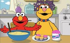 Elmo Special Cupcakes