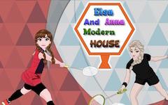 Elsa and Anna Modern House
