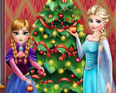 Elsa And Anna Perfect Christmas Tree