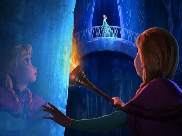 Elsa and Anna Puzzle