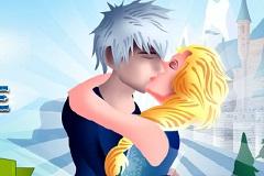 Elsa and Jack Kissing