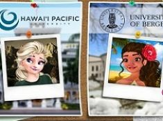Elsa and Moana Exchange Students