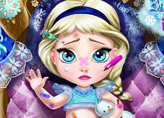 Elsa Baby Injured