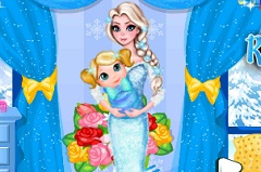 Elsa Baby Room Clean Frozen Games