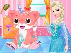 Elsa Baby Tiger Care