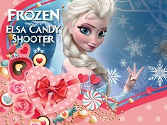 Elsa Candy Shooter