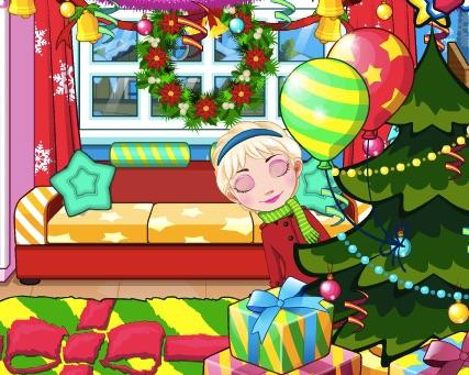 Elsa Celebrates Christmas
