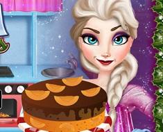 Elsa Christmas Cake