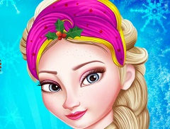 Elsa Christmas Makeover
