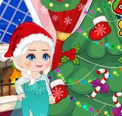 Elsa Christmas Slacking