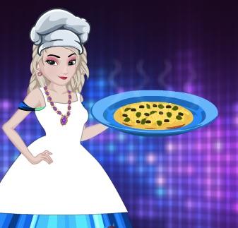 Elsa Cooking Tamale Pie