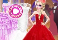 Elsa Different Dress Style