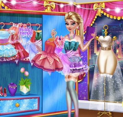 Elsa Fairy Party Dress Up