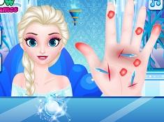 Elsa Frozen Hand