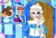 Elsa Frozen Ice Cream Shop