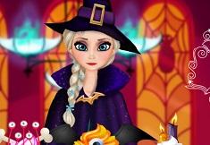 Elsa Halloween Cupcakes